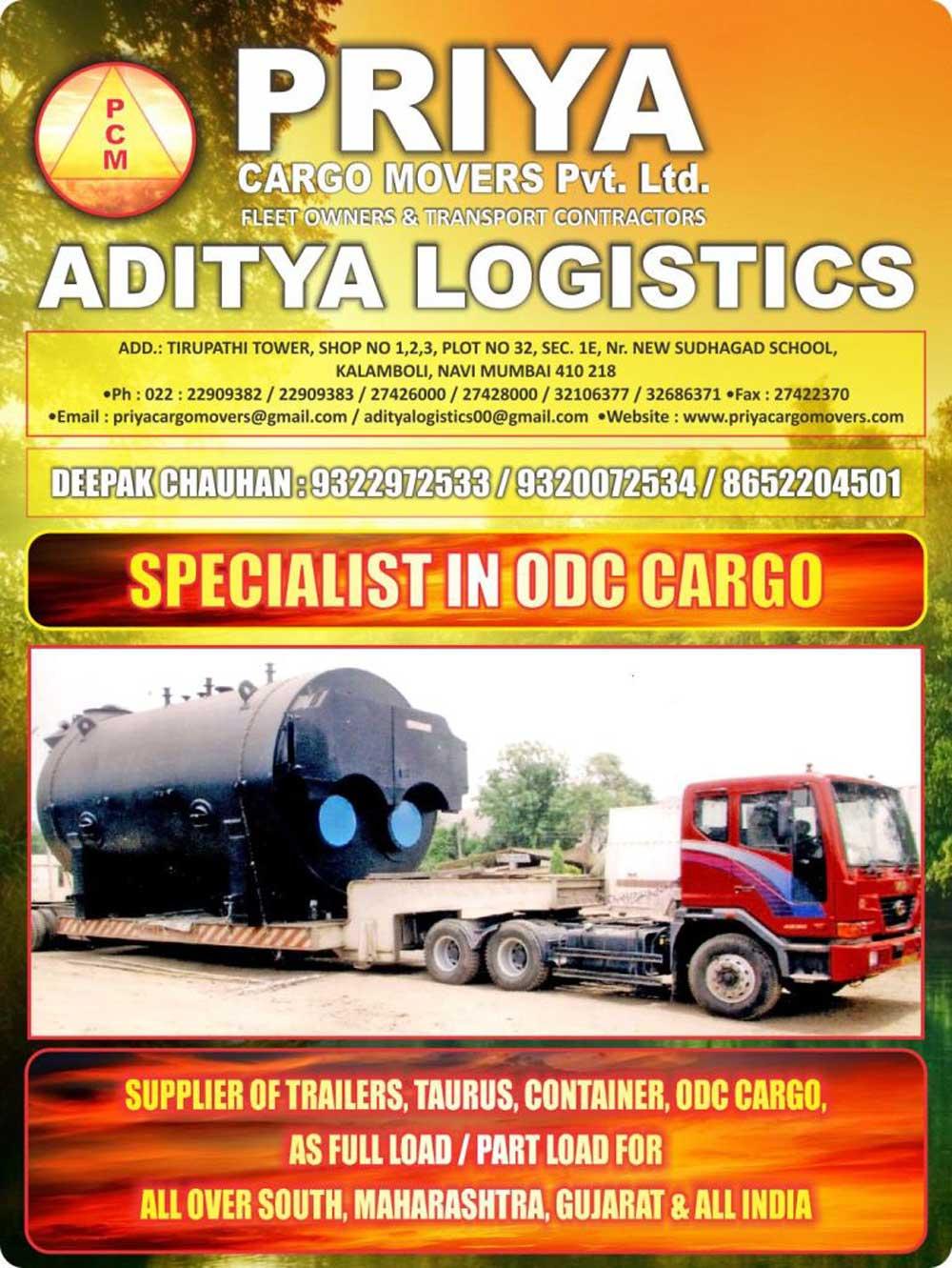 Priya Cargo Movers