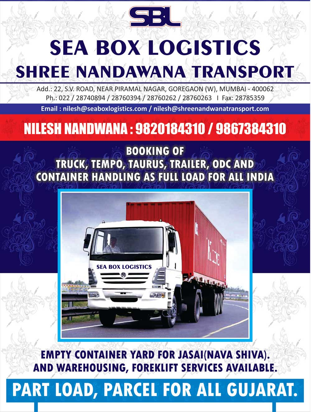 Shree Nandwana Transport